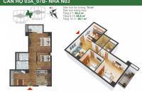 Chính chủ bán cắt lỗ căn 2 ngủ, 2WC 68,4m2, K35 Tân Mai, giá siêu rẻ 25tr/m2. LH 0982.726.226