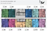 CC The Golden An Khánh 32T bán nhanh các CH T10-T20 DT 66,8m2, giá từ 1 tỷ: 0865427658
