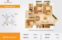 Chính chủ bán căn hộ 117m2 chung cư Golden Palace, Mễ Trì
