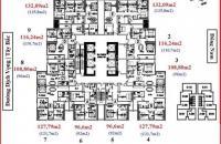 Gia đình tôi cần tiền bán CHCC 1601 FLC Twin Towers Cầu Giấy DT 123.3m2, 33.5tr/m2: 0865427658
