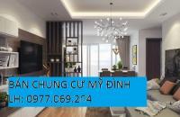 Chính chủ bán (hoặc cho thuê) căn hộ chung cư HD mon, mỹ đình 2. LH 0977.069.264