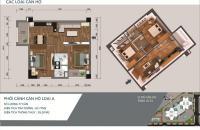 Bán căn hộ 59m2, ban công Đông Nam tòa N04A Ngoại Giao Đoàn