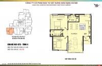 Bán CHCC Yên Hòa Parkview E4 Vũ Phạm Hàm căn góc 2PN tất cả các phòng đều thoáng. LH: 0961127399