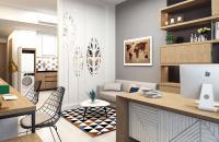 Chủ nhà cần cho thuê căn 3 phòng ngủ Full đồ tại chung cư COMA6 với giá 8tr/tháng: 0981129026