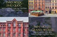 Bán đất xây khách sạn Mini trong quần thể GrandWorld Phú Quốc