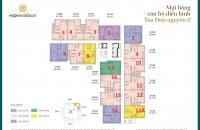 Chính chủ cần bán CHCC Hope Residence Phúc Đồngcăn 1206, DT 68m2 bán 16.5tr/m2: 0981129026