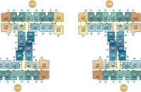 Bán nhanh căn hộ chung cư Hà Nội Home Land tầng 1106 tòa CT1B, DT  58.13m2 bán giá 23.tr/m2: 0962449105