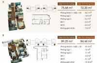 Chính chủ bán nhanh căn góc G1 Five Star Kim Giang, 84m2, giá 2.65 tỷ