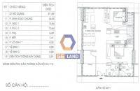 Bán gấp căn 92m2 tòa A2 tầng đẹp, DA Ia20 Ciputra, giá 18,5 tr/m² có VAT, chênh hợp lý. 0982726226