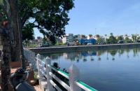 Bán nhà mặt hồ Sài Đồng, 100 m2 mặt tiền 5 mét, kinh doanh, đang cho thuê 14 triệu