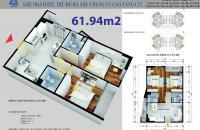 Bán nhanh căn góc 62m 2pn 2vs giá 906tr ở dự án CT1 Yên Nghĩa