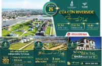 Mở bán-Chỉ từ 1,2tỷ sở hữu ngay - lô đẹp nhất tại Cửa Cờn Riverside - 3 mặt view sông - 0914200366