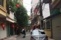 HIẾM - Bán đất mặt ngõ Nguyễn Chí Thanh, kinh doanh tốt,ô tô tránh,ngõ thông,vỉa hè,36m2, mt 4.5m, chỉ 5,85 tỷ