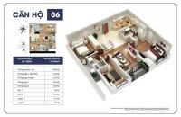 Bán căn hộ 3PN- 121m2, dự án Goldmark City, nhận nhà ngay, giá 27trđ/m2