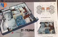 Cho thuê căn hộ CT1 Yên nghĩa 114m2: 3PN Ch mới nhận bàn giao đã lắp tủ bếp, ĐH, NL. 6tr/th. LH: 0981274507.