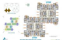 Bán căn hộ 60,2m2 tầng 15 tòa B4 Green Stars ban công Đông Bắc full nội thất giá 1.9x tỷ bao sổ đỏ