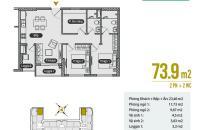 Bán căn hộ chung cư AnLand Premium 3PN giá 1,9 tỷ vay ngân hàng 70% ký trực tiếp CĐT LH 0967506216