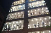 ĐẲNG CẤP CỦA ĐẲNG CẤP, mặt phố Nguyễn Văn Huyên, Cầu Giấy. DT 120m, 7 tầng, lô góc, mặt tiền 9m.