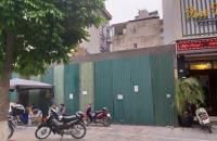 Bán lô đất mặt phố đẹp nhất phố Tây Sơn, Đống Đa. DT 170m, MT 13m, giá 33 tỷ.