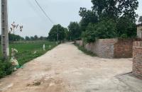 Đất bìa làng Bắc Thượng 100m2, mặt tiền 5m, lô góc có thể chia 4 vị trí cực đẹp, đường trước mặt ...