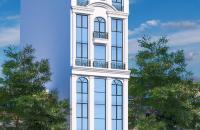 Bán tòa VP mới xây 9 tầng mặt phố Trần Vĩ - Lê Đức Thọ mặt tiền 6.6m.GIÁ=47tỷ