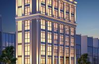 Bán tòa nhà lô góc 2 mặt đường nhựa 9 tầng mặt phố Thái Thịnh. Giá=30,5tỷ