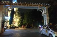 Bán nhà ngõ 40 Xuân La, Tây Hồ 63m2, 4 tầng Kinh doanh, ô tô tránh giá 11,6 tỷ.