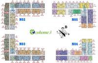Bán rẻ CC Ecohome 3 tầng 27 căn 05 Tòa NO3 : 67m2 cửa nam ban công bắc.O389I93O82