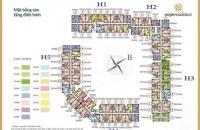 Chủ nhà cần bán căn 1003 toà H4, DT 69.19m2 CHCC Phúc Đồng, Long Biên, giá 1 tỷ 420/ căn:0981129026