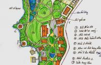 Khuôn viên nghỉ dưỡng tuyệt vời view hồ Suối Ngọc, Tiến Xuân, Thạch Thất.