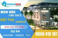 Bán hoặc cho thuê căn hộ 157m, 3 ngủ, 2 wc tòa MD Complex Mỹ Đình. LH 0963916547