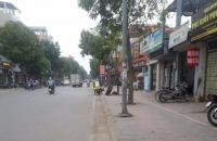 Bán đất mặt phố Giang Biên,vỉa hè,kinh doanh sầm uất,83m,MT 5m,giá 7,5 tỷ.Lh:0989126619.