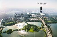 Cần cho thuê căn hộ Phương Đông Green Park - số 1 Trần Thủ Độ Hoàng Mai, DT 52 - 98m2, nội thất CB,giao nhà t7/2021