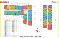Cần bán căn hộ chung cư Gemek Tower tầng 2817 tòa A, diện tích sổ 67.3 giá bán 1 tỷ 360/ căn;0961637026