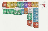 Bán căn 1114 chung cư Gemek Tower, DT 77m2, có tủ bếp, điều hòa giá bán 1 tỷ 550/ căn:0962449105
