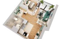 Bán căn hộ 2PN, chung cư Imperia Smart City, chỉ với chưa đầy 400tr, cuối 2021 nhận nhà.