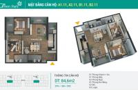 Chính chủ cần bán căn hộ 2 PN Phương Đông green Park Hoàng Mai Hà Nội