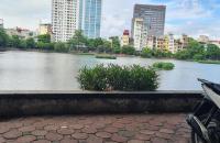 Bán gấp nhà VIEW HỒ, VỈA HÈ, KINH DOANH  mặt phố Hồ Đắc Di TT Đống Đa 40m2x6T- 0936091181.