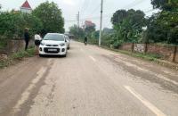 Bán 1123m đất Lâm Trường Minh Phú Sóc Sơn MT 20m 4,1 tỷ ô tô tránh