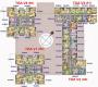 Bán căn góc 3V3 Home City, Trung Kính 93.98m2, 3PN, 2WC, giá 34 tr/m2, tầng trung